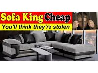 BRAND NEW BALMORAL CORNER GROUP - WHOLESALE PRICES DIRECT TO YOU - SOFA KING CHEAP