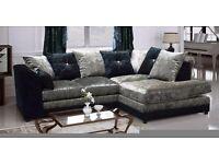 Stunning velvet couches