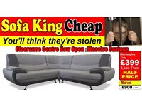 Gleneagles 3 and 2 Seaters or Corner Group only £399 - SOFA KING CHEAP JUST GOT CHEAPER