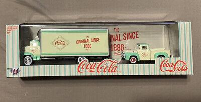 M2 Machines Auto Haulers Coca Cola 1956 Ford COE & 1956 Ford F-100 Truck Ltd.