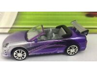 Mitsubishi Eclipse Spyder Violett Roman´s The Fast and Furious 1//43 Greenlight..