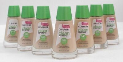 CoverGirl Clean Sensitive Liquid Foundation~ Choose Your Shade! Brand New Cover Girl Clean Makeup Foundation