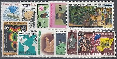 Benin Scott 575-585 Mint NH
