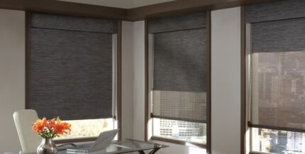 roller blind and plantation shutters on special