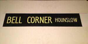 London-Bus-Blind-Hounslow-42-Bell-Corner-Hounslow-TW