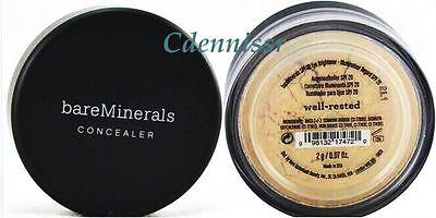 Bare Escentuals Bare Minerals Concealer Highlighter Eye Brightener WELL RESTED
