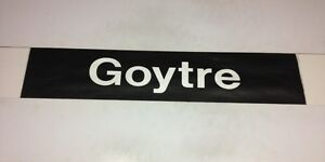 South-Wales-Bus-Destination-Blind-33-Goytre