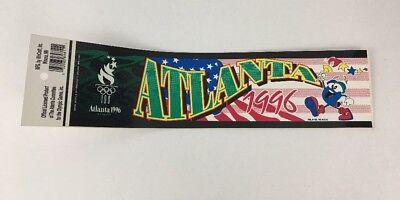 Atlanta 1996 Olympic Games Bumper Sticker