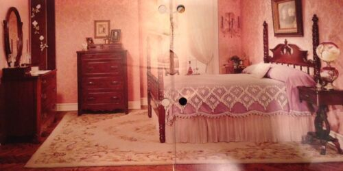 Lillian Russell Bedroom Furniture : Full Size Davis Cabinet Bedroom Suite Lillian Russell Poster Black ...