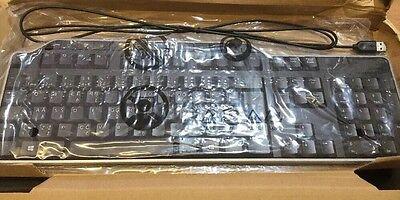 Dell Nuevo USB Lvi Diseño Ue y Reino Unido Inglés Multimedia Teclado KB522 EU 1Q comprar usado  Enviando para Brazil