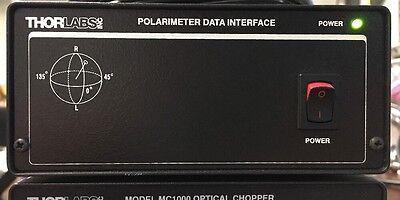Thorlabs Polarimeter Interface Wcable
