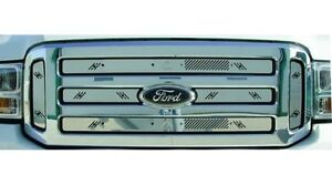 05-07 Ford Super Duty w/ Honeycomb Grille Winter Grille Insert