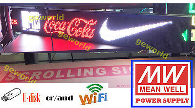 6.3x42 Led Scrolling Sign Multicolor Programmable Message Display Board Indoor