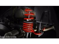 For Scion XB 2.4 L4 08-15 Front /& Rear Trd Xb Lower Springs Genuine PTR07 52080