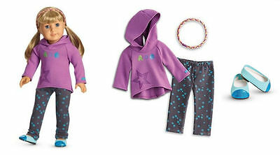"American Girl Starry Hoodie Outfit for 18"" doll CLF26-RF1A"