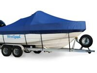 NEW WESTLAND 5 YEAR EXACT FIT BAYLINER 219 DECK BOAT W/TOWER & PLAT COVER 04-06