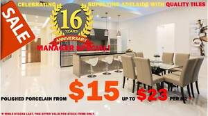 Tiles Clearance Sale - HUGE $aving!!! Holden Hill Tea Tree Gully Area Preview