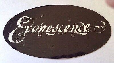 "Evanescence Sticker 6""x3"""