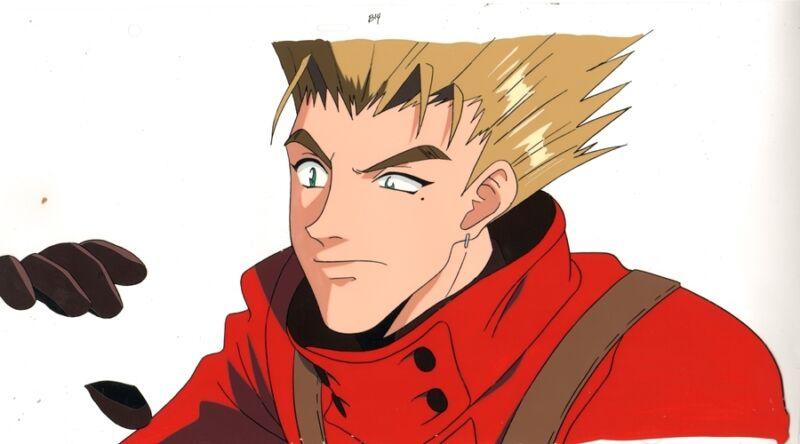 Anime Cel Trigun #21