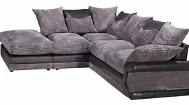 **SPECIAL OFFER** BRAND NEW DINO JUMBO CORD CORNER SOFA OR 3+2