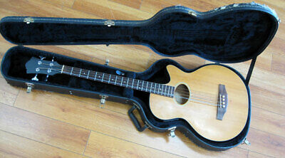 GUILD B4CE-NT 4-STRING ACOUSTIC/ELECTRIC BASS from the 1990s IN HARD CASE