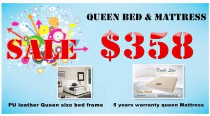 【Double Star】Best Buy! Queen Bed and Mattress on Special! Nunawading Whitehorse Area Preview