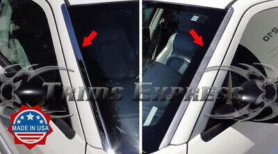fit:05-10 Chrysler 300 300C/Magnum Front Window Wind Shield Deflector Trim