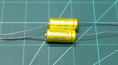 4.7NF 4700PF 10/% 630V 200VAC AXIAL CAPACITOR ERO QTY:5
