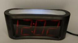Sharp Digital Alarm Clock 1.8 Inch Jumbo LED Display and Nightlight
