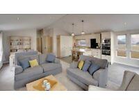 brand new lodge for sale. 12 month park - lancashire