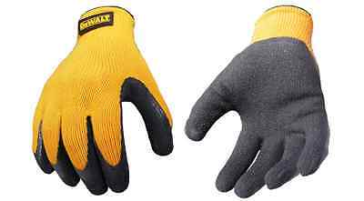 DeWalt Gripper Grabber Work Gloves DPG70 Large 12 PAIR-1 DOZEN Lot