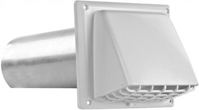 IMPERIAL 4-in Dia Plastic Preferred with Guard Dryer Vent Ho