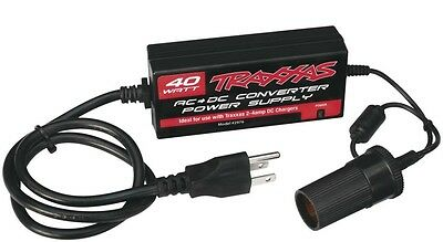 Amp Toy - Traxxas 2976 AC to DC Power Supply Adapter for Traxxas 2-4 amp DC Charger