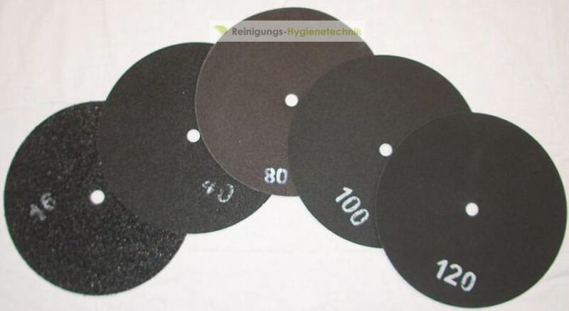 5 Piece Double-Sided Sanding Discs 16 15/16in For Grinding Machine/Grain 40