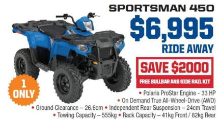 Polaris 2017 model runout - ATV quads & side by sides ROPS