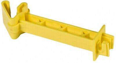 Zareba IT5XY-Z Snap-on 5-Inch Extender Insulator, Yellow, 25