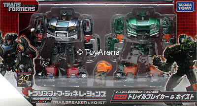 Transformers Generations TG-27 Trailcutter & Hoise Set Autobot Fall of Cybertron