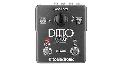 TC Electronic Ditto X2 X 2 Two Switch Looper Guitar Pedal!