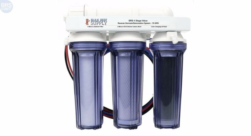 NEW IN BOX 4 Stage Reverse Osmosis Deionization Water Filtration System