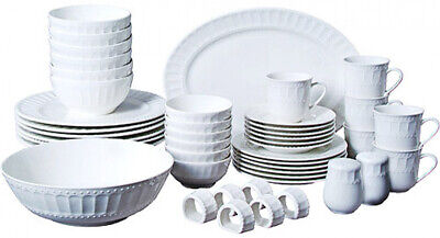 Gibson Home Regalia 46-Piece Dinnerware and Serveware Set