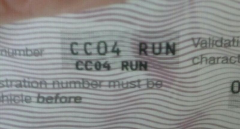 CC04RUN+Private+number+plates+cherished+plate