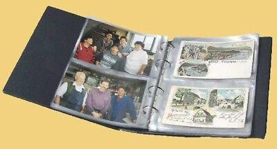 Kobra Postkartenalbum rot für 160 Postkarten bis Format 150 x 105 mm (PK3)