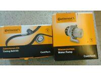 Continental Contitech CT 881 WP2 Water Pump & Timing Belt Kit