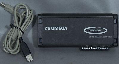 Omega Omb-daq-54 Thermocouple Process Signal Usb Data Acquisition Module Daq