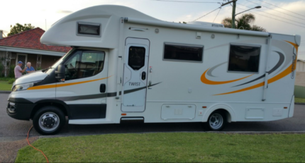 SUNLINER TWIST MOTORHOME Newcastle Newcastle Area Preview