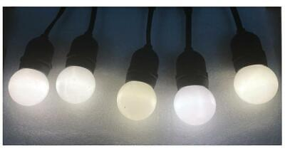 Elara LED Festoon Lights, Frosted, IP44 - ELARA (W)