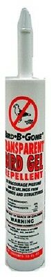 Bird B Gone, 10 OZ, Transparent Bird Gel, Tube