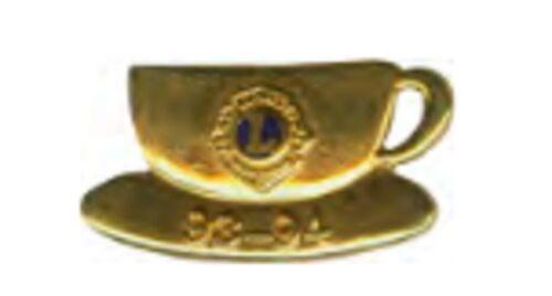 Lions Club Pins - International Presidents Pin 1993-1994 Coffee Cup