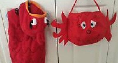 DR SUESS POTTERY BARN KIDS RED FISH COSTUME 2-3, 2T-3T NEW/NWT WITH TREAT BAG - Dr Suess Costume