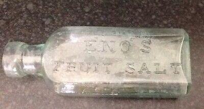 Vintage Glass Bottle Eno Fruit Salt  for sale  Chesterfield